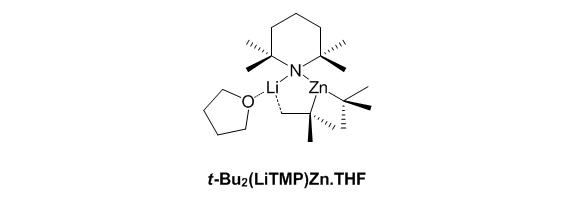 t-Bu2(LiTMP)Zn.THF