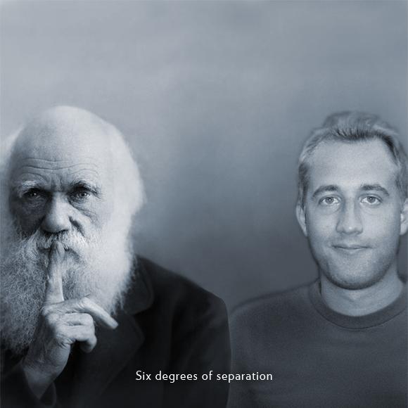 Charles Darwin and Fredrik von Kieseritzky